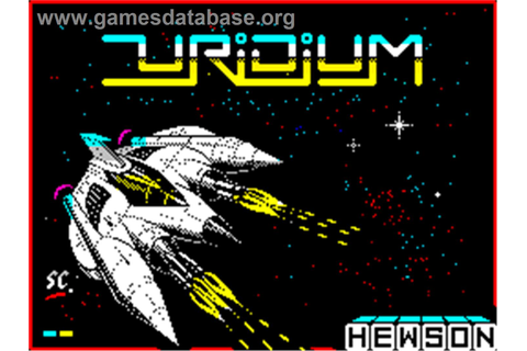 Uridium - Sinclair ZX Spectrum - Games Database