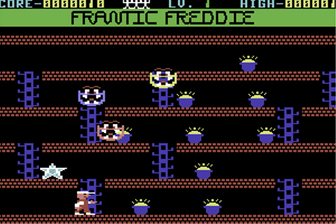 Download Frantic Freddie (Commodore 64) - My Abandonware