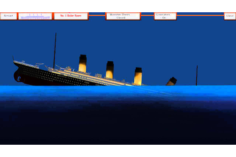 Titanic Sinking Simulator (Flash Game) - YouTube