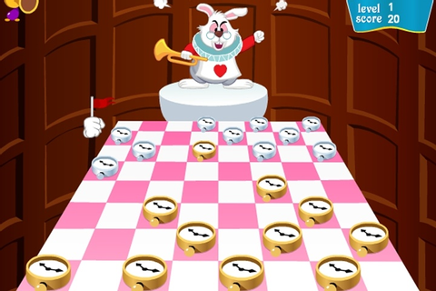 Checkers Of Alice In Wonderland Game - Disney games ...