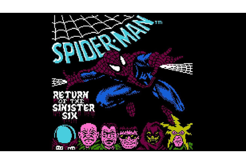 Spider-Man: Return of the Sinister Six - NES Gameplay ...