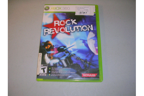 ROCK REVOLUTION (Xbox 360) Game Only (GAME ONLY ...