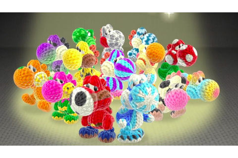 Yoshi's Woolly World - Official Japanese Overview Video ...
