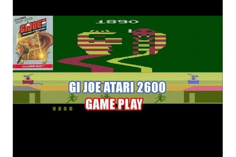 GI Joe: Cobra Strike Atari 2600 Game play - YouTube