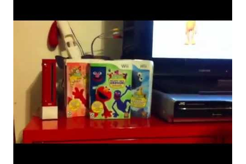 Sesame Street Ready,Set,Grover Wii Game (v2) - YouTube