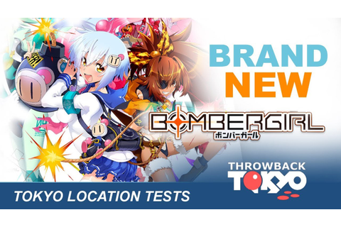 Tokyo Bomber Girl Location Tests - Brand New Arcade Game ...