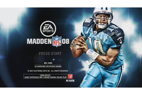 MADDEN 08 XBOX 360 GAMEPLAY RAIDERS VS TITANS SOME GOOD ...