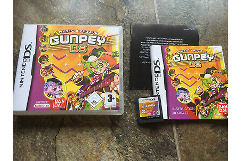 Gunpey Ds Game! Complete! Look In The Shop! | eBay