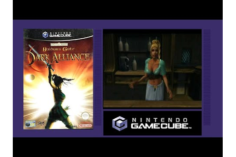 BALDURS GATE DARK ALLIANCE - GameCube Game Review - YouTube