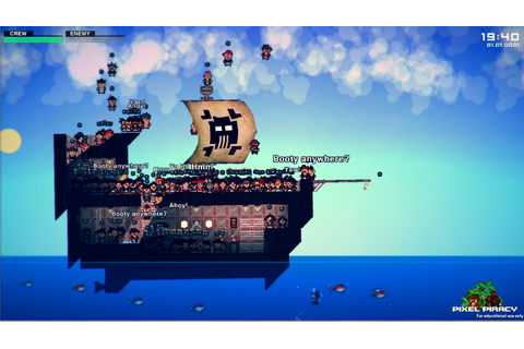 PIXEL PIRACY, ALPHA DOWNLOAD | Alpha Beta Gamer