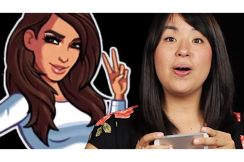 People Try The Kim Kardashian Game For The First Time ...