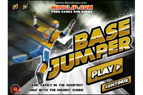 Play Base Jumper Game Miniclip Gameplay - YouTube