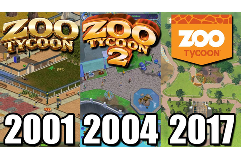 Evolution of Zoo Tycoon 2001-2017 - What happened to Zoo ...