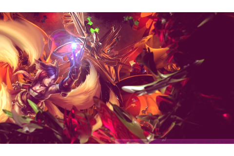 Ahri, League Of Legends, Video Games Wallpapers HD ...