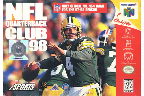 NFL Quarterback Club 98 for Nintendo 64 (1997) Ad Blurbs ...