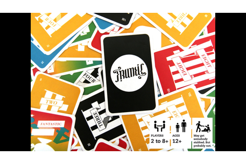 Frantic - The Mischievous Card Game by Fabian Engeler ...