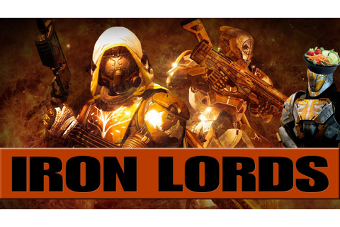 Destiny Lore: The Iron Lords - YouTube