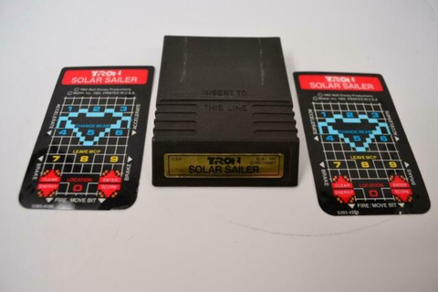 Intellivision Game Cartridge TRON SOLAR SAILER | eBay