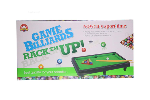 Game Billiards Snooker Rack Em Up For Kids Online Shopping ...