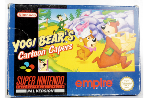Yogi Bear's Cartoon Capers - SNES | Retro Console Games ...
