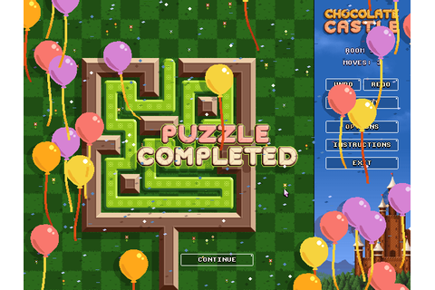 Chocolate Castle :: A tricky sliding puzzle game.