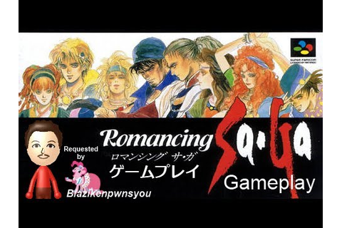 Romancing SaGa (SFC) Gameplay - YouTube