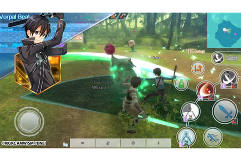 Sword Art Online: Integral Factor now available worldwide ...
