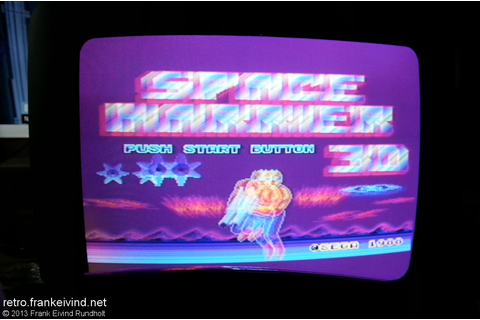 Review: Space Harrier 3-D (Master System/SegaScope 3-D ...