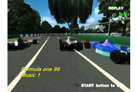 Formula one 99 (ps1) soundtrack - Menu/race music 1 - YouTube