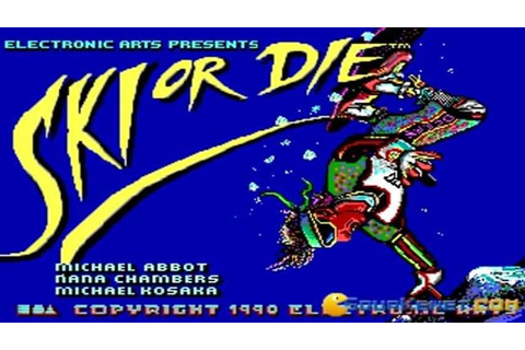 Ski or Die gameplay (PC Game, 1990) - YouTube
