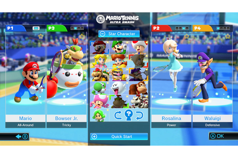 Mario Tennis: Ultra Smash Review - Court Jester