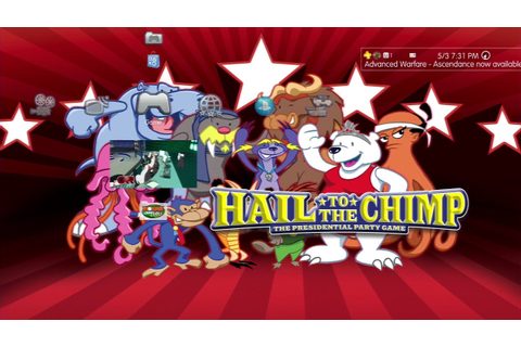 "HAIL TO THE CHIMP- Let's Play - ""President of the Animal ..."