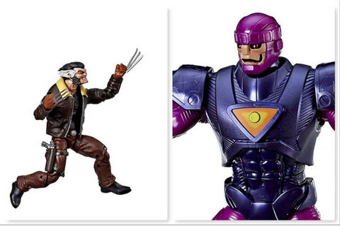 Marvel Legends Days of Future Past – Sentinel & Logan a la ...