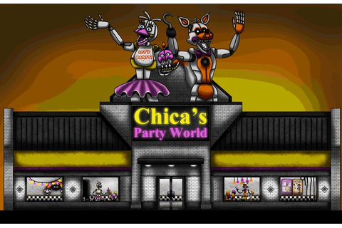 Chica's Party World Outside View by Playstation-Jedi ...