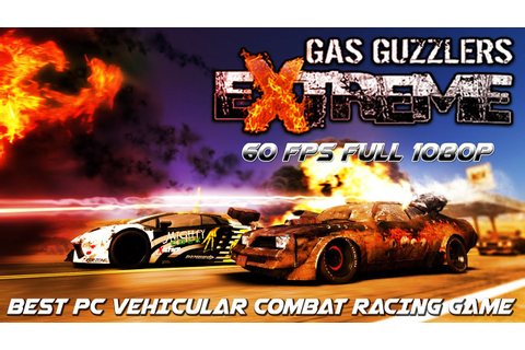 Best PC Car combat racing game: Gas Guzzlers Extreme - YouTube