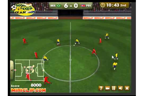 Friv World Soccer Champion Game - YouTube