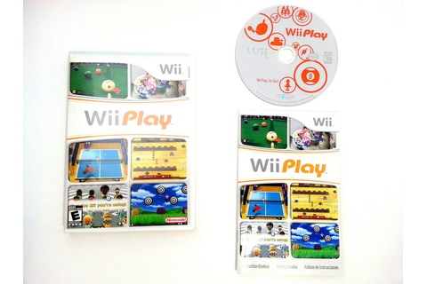 Wii Play (Game only) game for Nintendo Wii -Complete | eBay