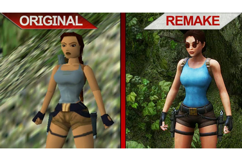 SBS Comparison | Tomb Raider II vs. Tomb Raider II Remake ...