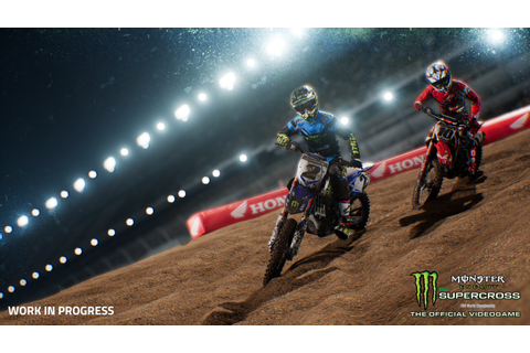 Monster Energy Supercross - The Official Videogame :: New ...