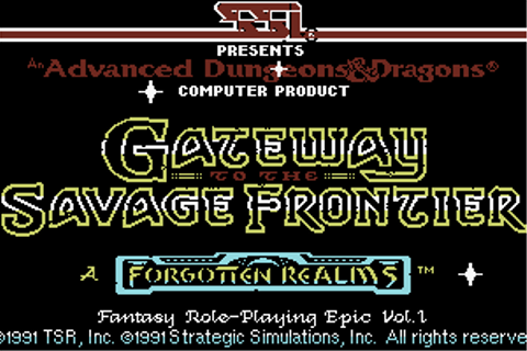 Download Gateway to the Savage Frontier - My Abandonware