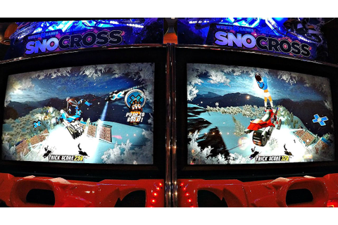 Arcade Racing Game Winter X Games Snocross Arcade Game 2 ...