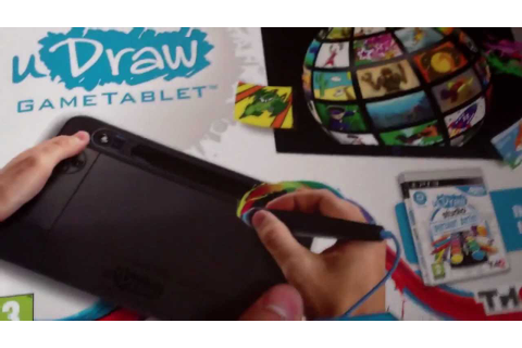 uDraw Game Tablet & uDraw Studio Instant Artist Unboxing ...