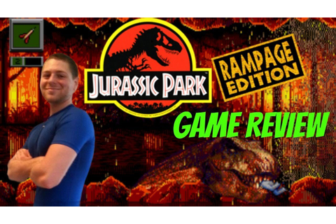 Jurassic Park Rampage Edition - Game Review (Sega Genesis ...