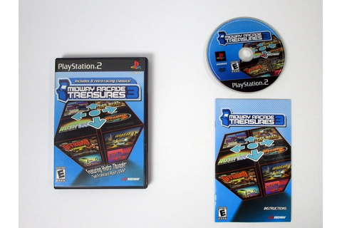 Midway Arcade Treasures 3 game for Playstation 2 (Complete ...