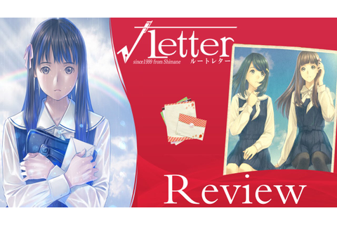 Game Review - Root Letter - YouTube