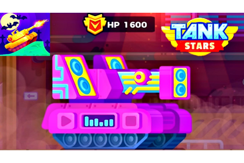 Tank Stars Update - New DUBSTEP Tank Unlocked | Music ...