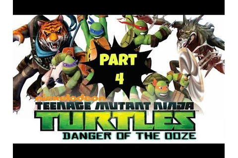 TMNT:Danger of the Ooze (Part-4) - YouTube