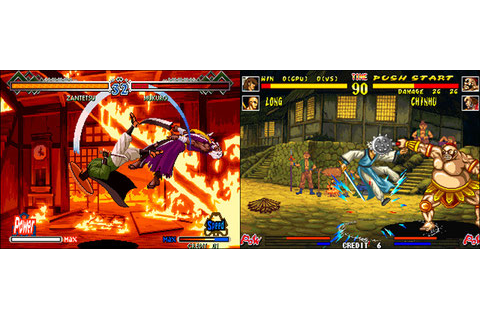The Last Blade 2 VS The Killing Blade US - Neo Geo, Arcade ...