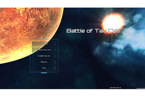 New UI Screenshots news - Battle of Tau Ceti - Mod DB