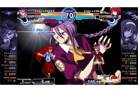 Melty Blood AACC: Coming to Steam on April 19th | OnRPG